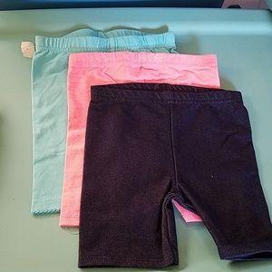 Lot of 3 Bike Knit Shorts Size 3T